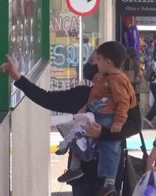 Dia das crianças: em Toledo comércio tem grande movimentação nesta segunda-feira