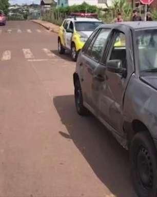 Motociclista de 26 anos fica ferido em acidente de trânsito no Bairro Interlagos