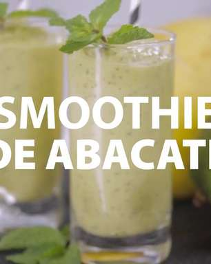 Smoothie de abacate