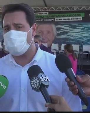Piscina térmica para idosos é inaugurada no município de Santa Tereza do Oeste