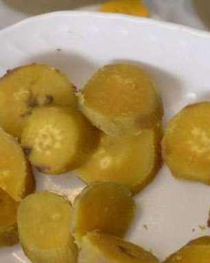Jaque Khury ensina batata-doce de 5 min no micro-ondas