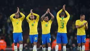 Com gol de pênalti, Brasil vence Uruguai em jogo disputado
