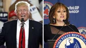 Donald Trump choca con la única gobernadora latina de EEUU