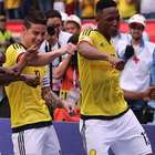 James encerra sofrimento no fim, e Colômbia bate Bolívia