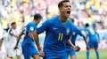 Veja as imagens marcantes da 1ª vitória do Brasil na Copa