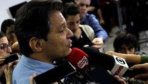 PT pede que SBT entreviste Haddad no horário do debate