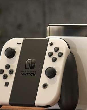 Novo Nintendo Switch Oled chegará ao Brasil em 2022