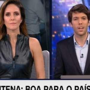Caio Coppolla é rebatido ao vivo por direção da CNN Brasil