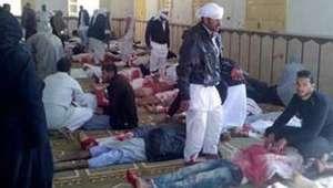 Militantes matam mais de 235 em ataque a mesquita no Egito