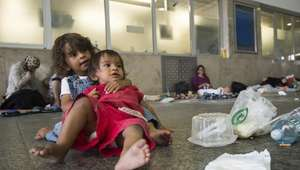 La estación de Budapest cierra unas horas por los refugiados