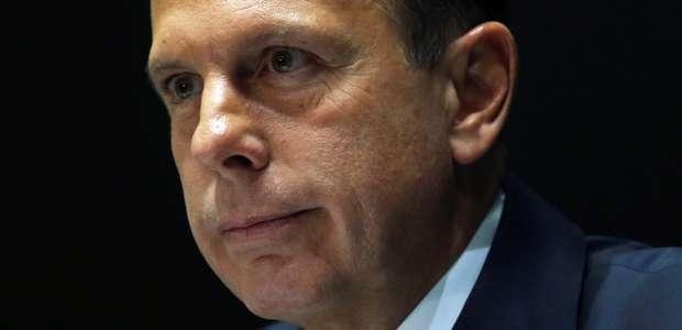 Justiça bloqueia R$ 29 mi em bens de Doria por improbidade