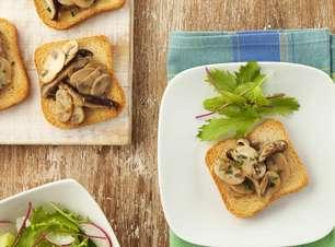 Crostini de Cogumelos