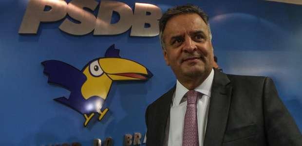 Executiva do PSDB rejeita pedido de expulsão de Aécio Neves