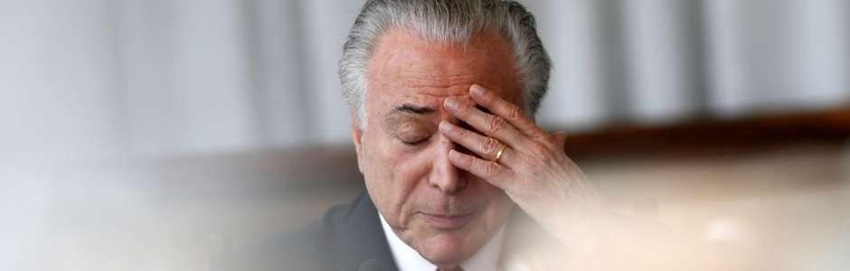 Ex-presidente Michel Temer é preso em SP