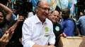 Alckmin ignora Bolsonaro e diz que Haddad já foi ao 2º turno