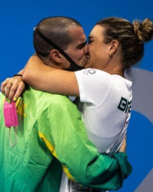 Brasil tem medalha inédita, beijão e 'teste para cardíaco'