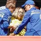 Haja coração! Irmã de Neymar passa mal em vitória do Brasil