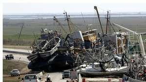 Huracán Katrina, antes y después de Nueva Orleans en fotos