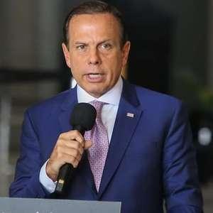 """""""Tristeza e vergonha"""", diz Doria sobre discurso de Bolsonaro"""