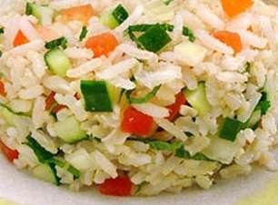 Tabule de arroz integral