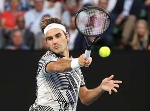 Federer bate alemão 'azarão' e vai à semifinal na Austrália
