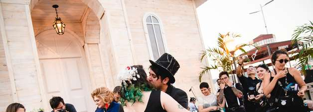 Mais um casamento oficial é celebrado na Cidade do Rock