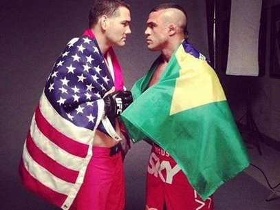 ChrisWeidman não enfrentará mais Vitor Belfort no UFC 173 Foto: Facebook / Reprodução