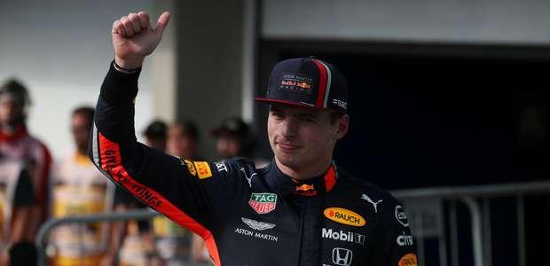 Verstappen larga na pole em Interlagos; Hamilton é o 3º