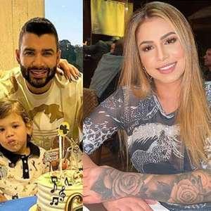 """Ex de Dudu sobre Gusttavo Lima: """"Ficamos umas 4 vezes"""""""