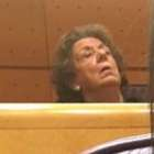 Rita Barberá se queda dormida en su escaño del Senado