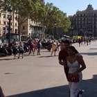 Motorista lançou van em 'zigue-zague' em Barcelona