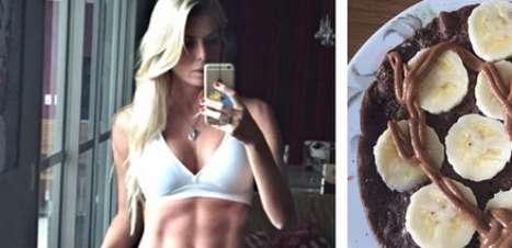Carol Bittencourt exibe barriga sarada em treino de domingo