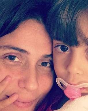 Giovanna Antonelli posa sem maquiagem ao lado da filha