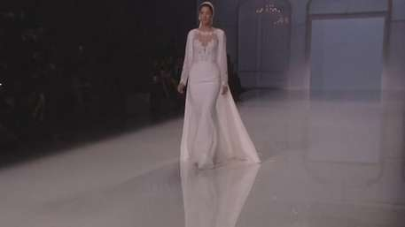 Rosa Clará inaugura la Barcelona Bridal Fashion Week