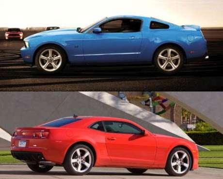 Foto Chevrolet Camaro SS vs. Ford Mustang GT