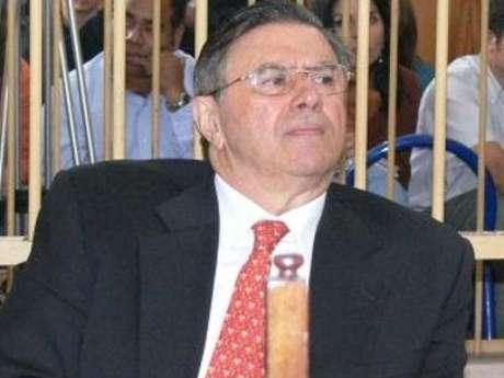 José Enrique Crousillat ante la sala Penal que sigue su caso. (Foto archivo)