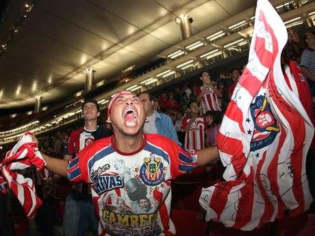 La afición de Chivas siempre fiel.