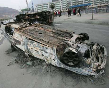 Foto Video de accidentes en China