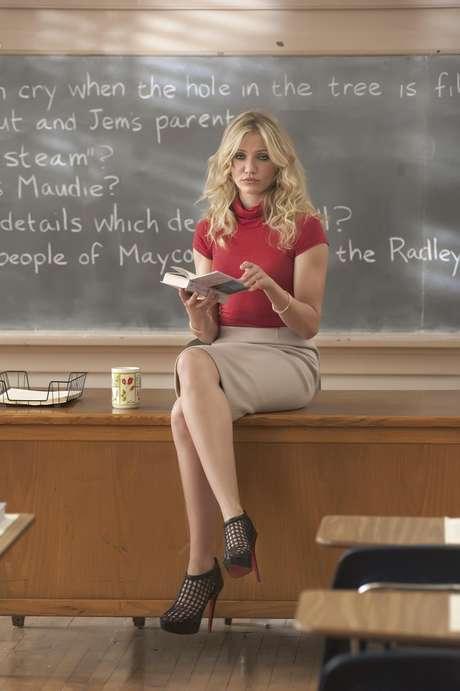 """La actriz Cameron Diaz en una escena de la película """"Bad Teacher"""" en una imagen proporcionada por Columbia Pictures."""