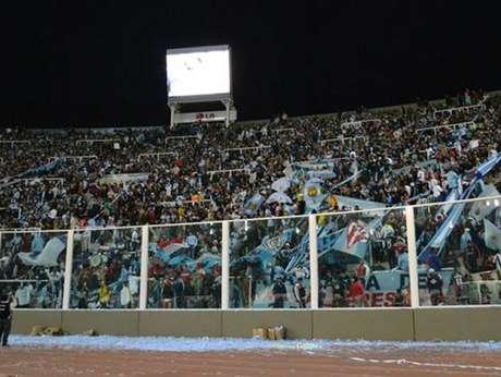 <p>Hinchadas Unidas Argentinas, presentes en el Mundial Sudáfrica 2010 y en la Copa América Argentina 2011.</p>