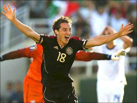 Andrés Guardado, mediocampista de la Selección Mexicana.