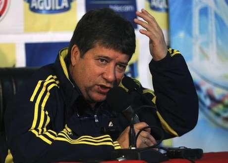 Gómez en la Copa América.