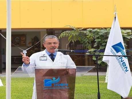 Dr. Carlos Vallejos, director del Instituto Nacional de Neoplásicas (INEN).