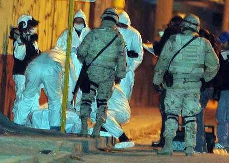 Los militares abatieron a un pistolero que intentó huir.