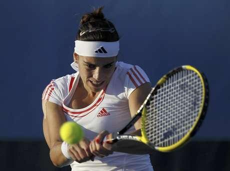 Paula Ormaechea, de tan solo 19 años, llegó hasta la segunda ronda del Abierto de Australia, con una destacada actuación