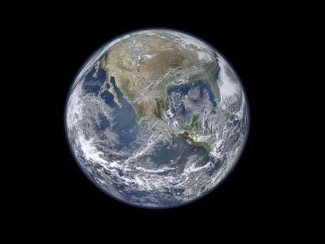Última imagen de la Tierra tomada por la NASA
