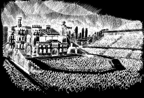 Boceto de la próxima gira mundial de Lady Gaga