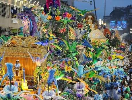 Carnaval de Río de Janeiro, uno de los más importantes del mundo.