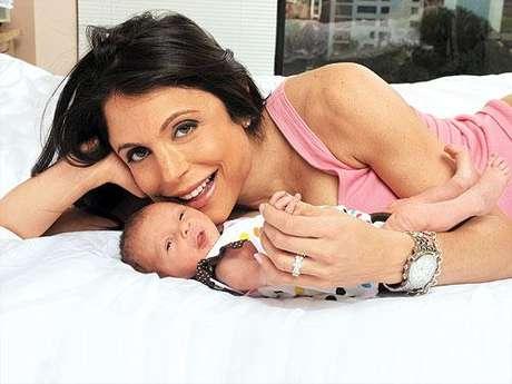 Bethenny Frankel y su hija Bryn. La ex real housewife dijo que perdió un segundo embarazo.