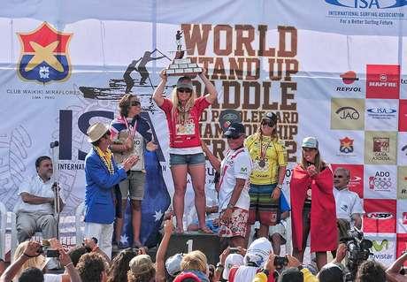 Brissa Málaga gana el cobre y Perú se ubica quinto en el ISA World StandUp Paddle and Paddleboard Championship